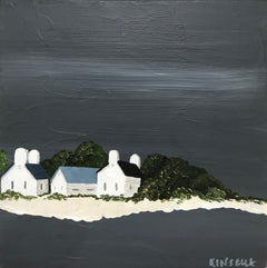 Small Work #3 by Susan Kinsella, Small Contemporary Coastal Painting