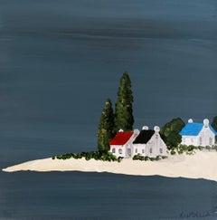 Small Work V by Susan Kinsella, Small Acrylic Contemporary Coastal Painting