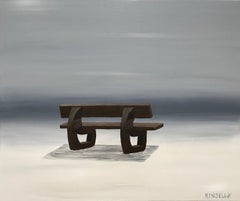 Still Wanting by Susan Kinsella, Contemporary Minimalist Acrylic Painting