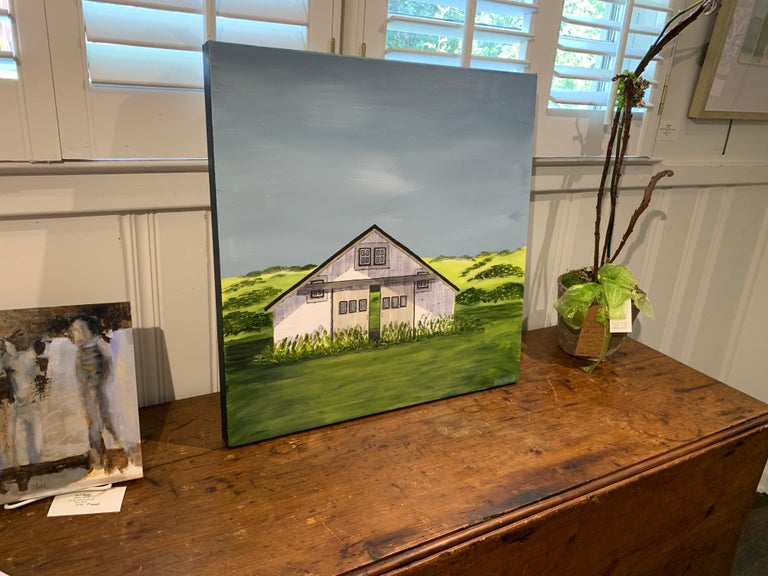 Summer on the Prairie by Susan Kinsella, Landscape Acrylic on Canvas Painting For Sale 4