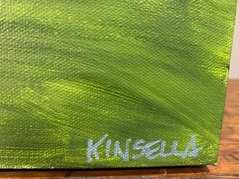 Summer on the Prairie by Susan Kinsella, Landscape Acrylic on Canvas Painting For Sale 5