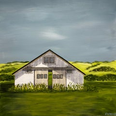 Summer on the Prairie by Susan Kinsella, Landscape Acrylic on Canvas Painting