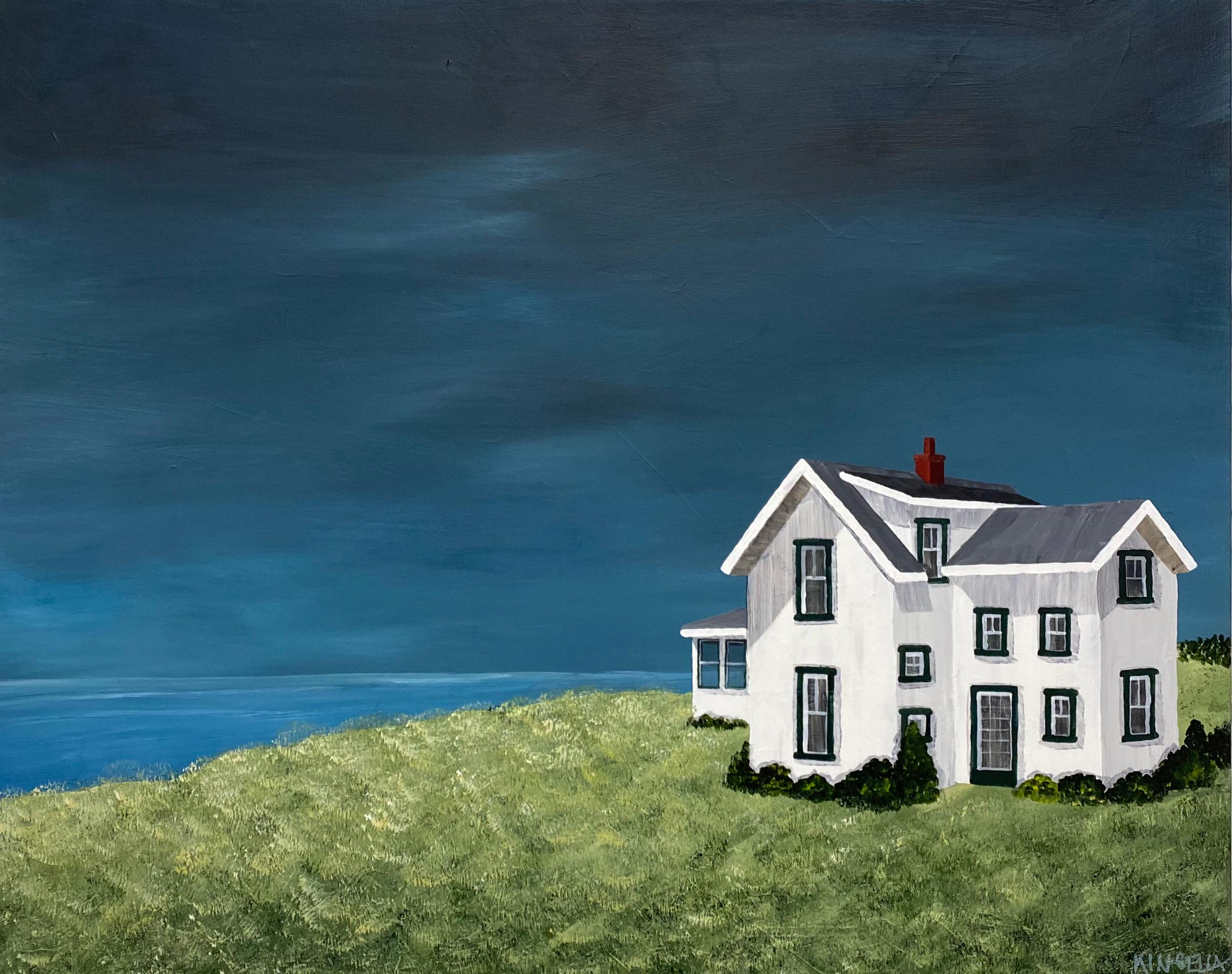 Summerplace by Susan Kinsella, Acrylic on Canvas Horizontal Landscape Painting