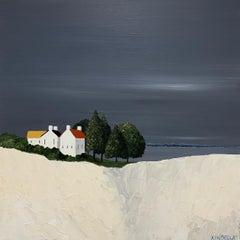 The Quiet Life by Susan Kinsella, medium square contemporary landscape
