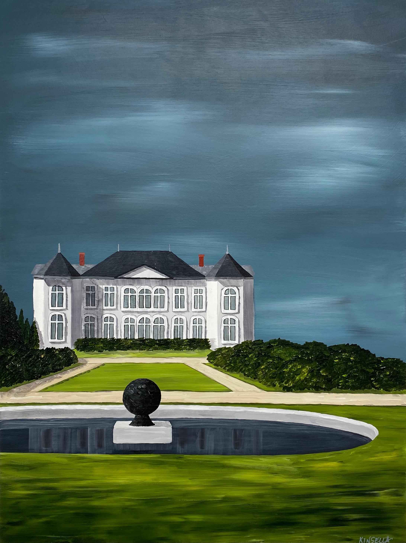 The Sculpture Garden Susan Kinsella, Landscape Acrylic on Canvas Painting