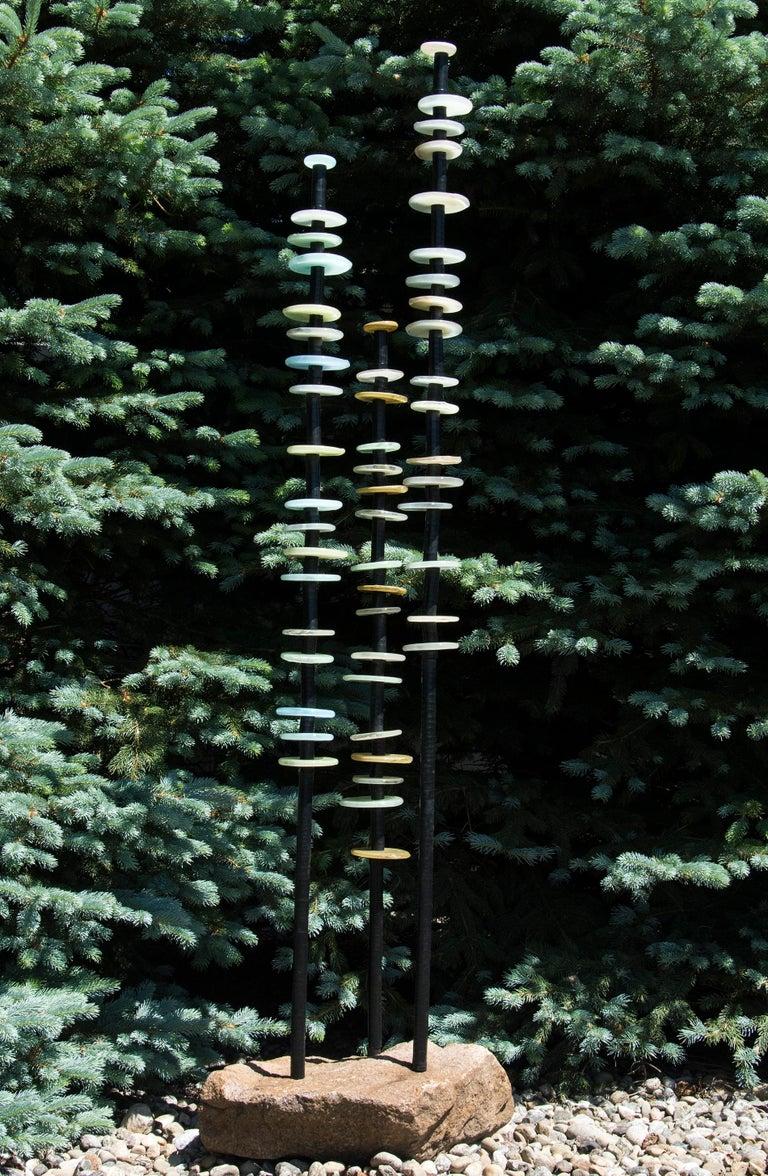 Quiet Neutral - Sculpture by Susan Rankin