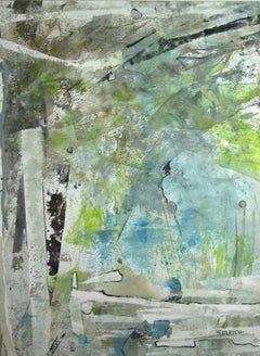 Terraqueous I, Painting, Gouache on Paper