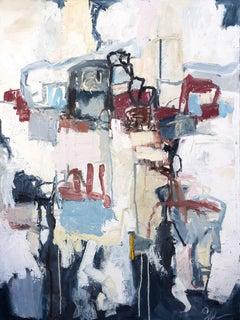 Cornwall - Abstract Boho Original Oil Painting