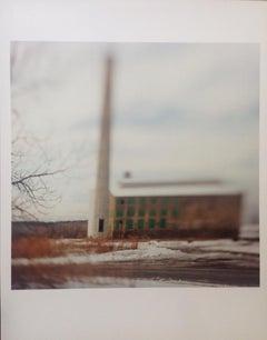 """Atlas Cement Near Olana"" Chromogenic Landscape Print Susan Wides 1997"
