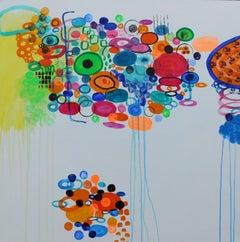 Carousel, Painting, Acrylic on Canvas