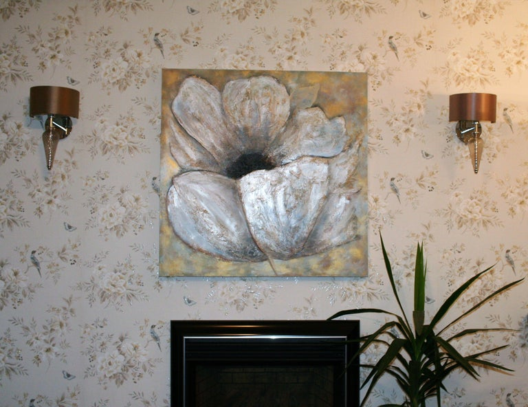 Flower XXL, Painting, Acrylic on Canvas For Sale 1