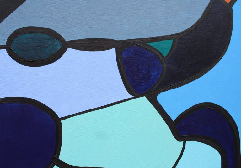 Homeward Bound, Painting, Acrylic on Canvas For Sale 1