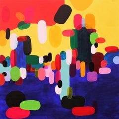 Summers Day, Painting, Acrylic on Canvas