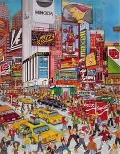 Times Square, Limited Edition Silkscreen, Susannah MacDonald