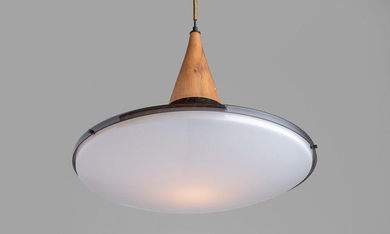 Modern Suspension Lamp by Goffredo Reggiani, Italy, circa 1960 For Sale
