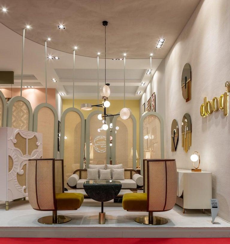 Contemporary Suspension Lamp Monaco For Sale