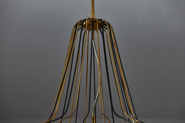 Suspension Light by Angelo Lelli for Arredoluce 4