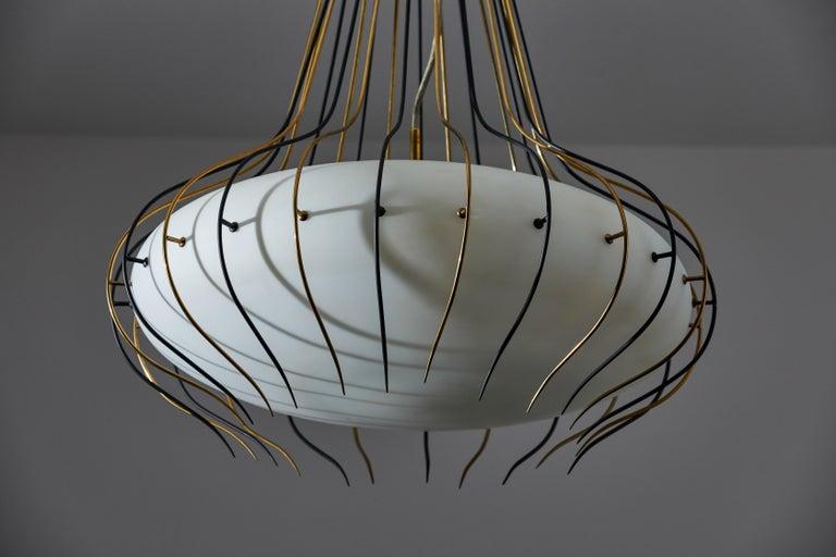 Suspension Light by Angelo Lelli for Arredoluce 5