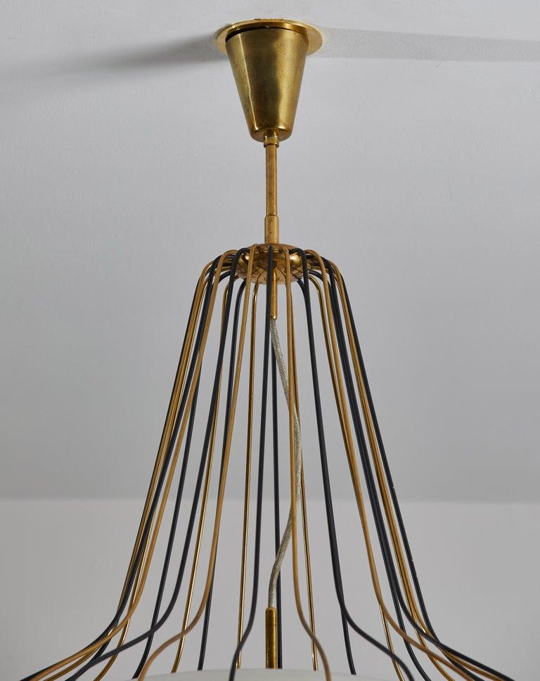 Suspension Light by Angelo Lelli for Arredoluce 1