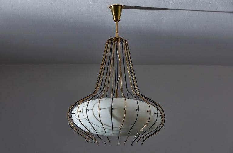 Suspension Light by Angelo Lelli for Arredoluce 2