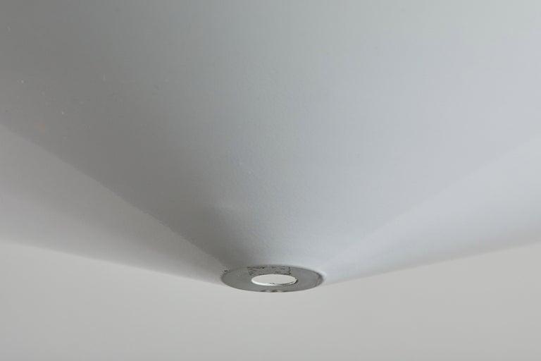 Metal Suspension Light by Arteluce For Sale