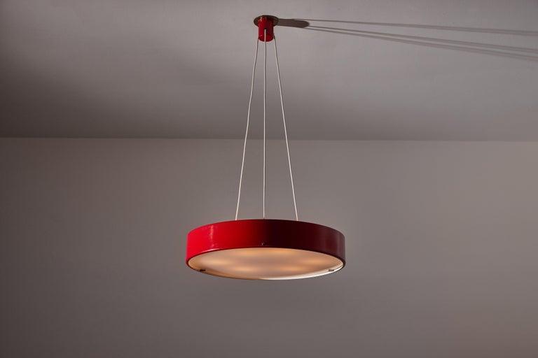 Mid-Century Modern Suspension Light by Bruno Gatta for Stilnovo