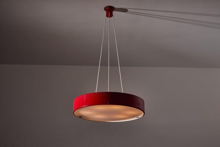 Italian Suspension Light by Bruno Gatta for Stilnovo