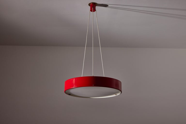 Suspension Light by Bruno Gatta for Stilnovo In Good Condition In Los Angeles, CA