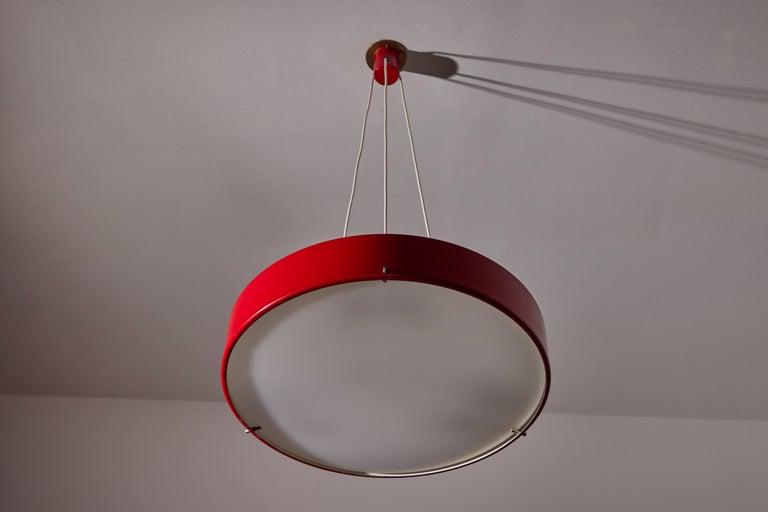 Acrylic Suspension Light by Bruno Gatta for Stilnovo