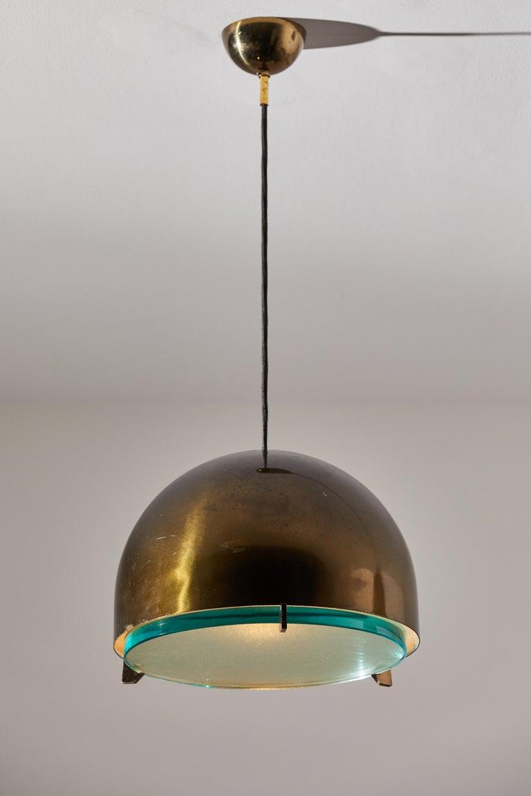 Mid-Century Modern Suspension Light by Fontana Arte For Sale