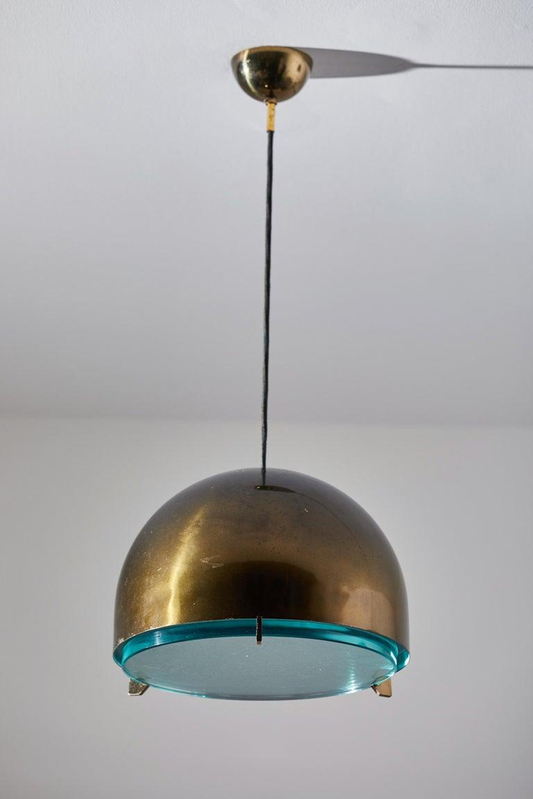 Italian Suspension Light by Fontana Arte For Sale