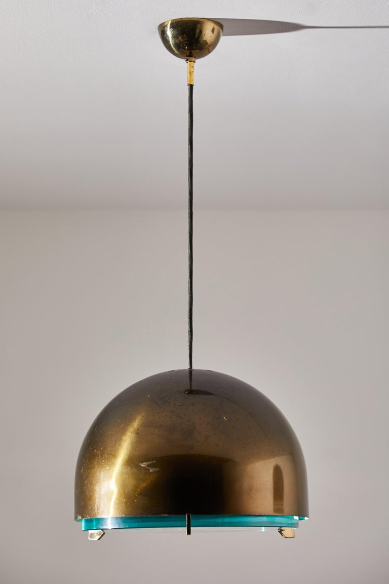 Suspension Light by Fontana Arte In Good Condition For Sale In Los Angeles, CA