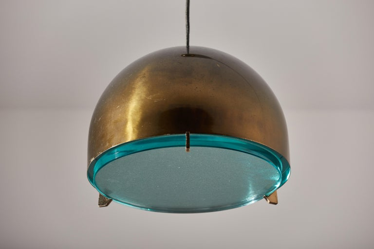 Mid-20th Century Suspension Light by Fontana Arte For Sale