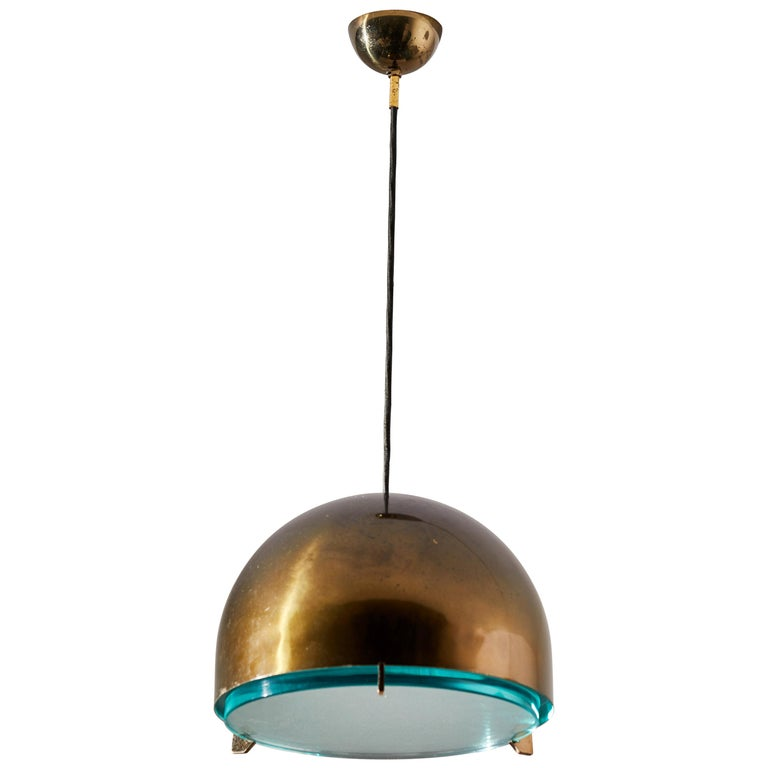 Suspension Light by Fontana Arte For Sale