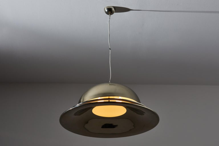 Suspension Light by Gianemilio Piero and Anna Monti for Fontana Arte In Good Condition In Los Angeles, CA