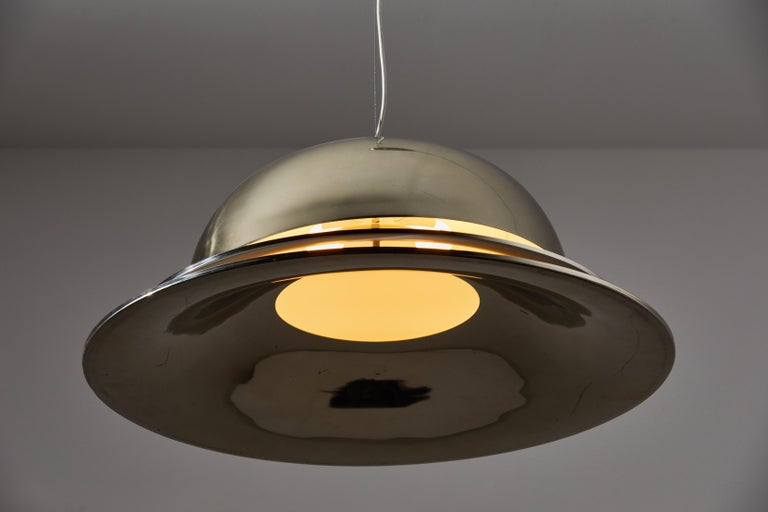 Mid-20th Century Suspension Light by Gianemilio Piero and Anna Monti for Fontana Arte