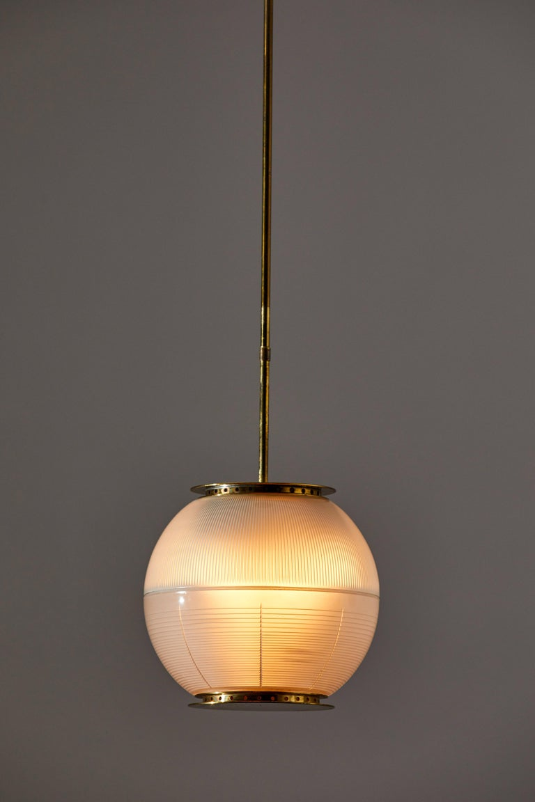 Mid-Century Modern Suspension Light by Ignazio Gardella for Azucena For Sale