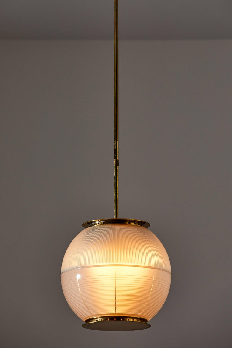 Italian Suspension Light by Ignazio Gardella for Azucena For Sale