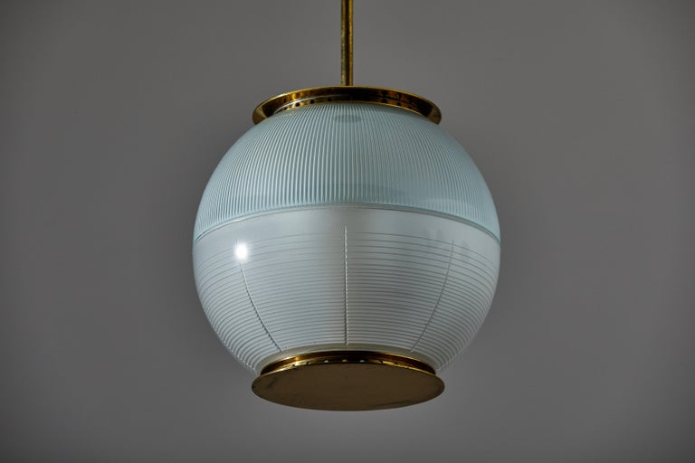 Suspension Light by Ignazio Gardella for Azucena In Good Condition For Sale In Los Angeles, CA