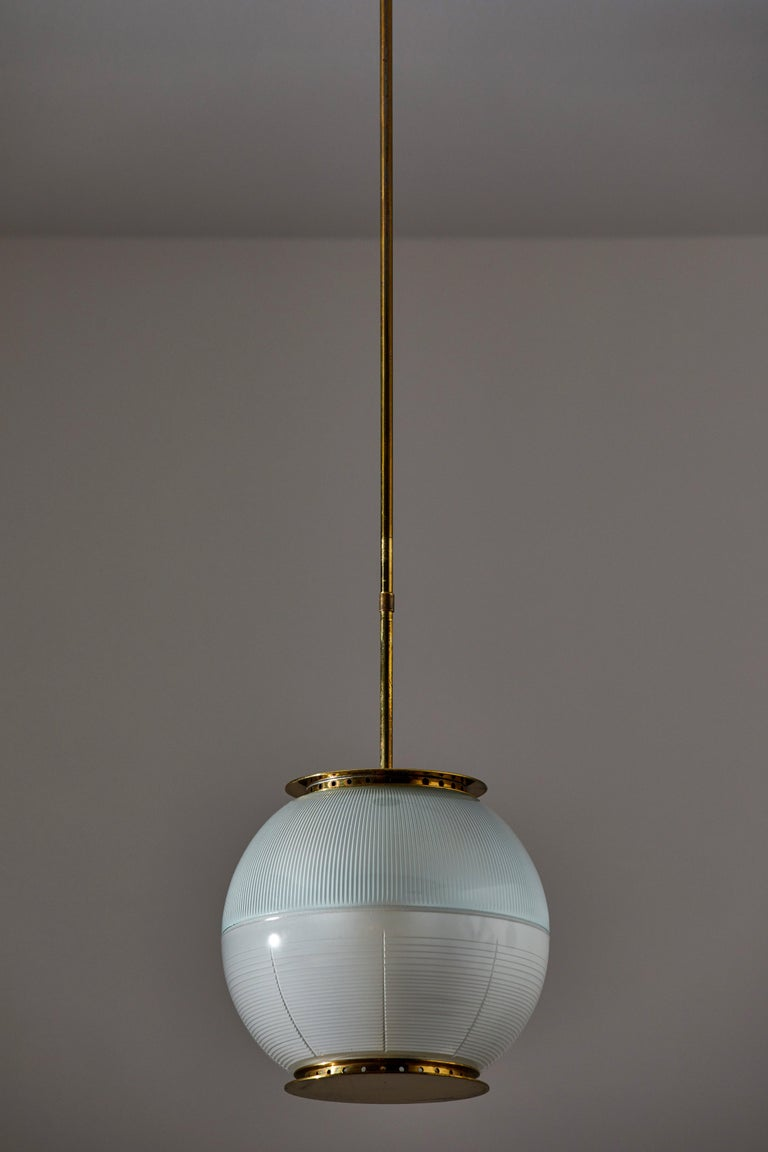 Mid-20th Century Suspension Light by Ignazio Gardella for Azucena For Sale