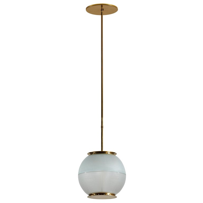 Suspension Light by Ignazio Gardella for Azucena For Sale
