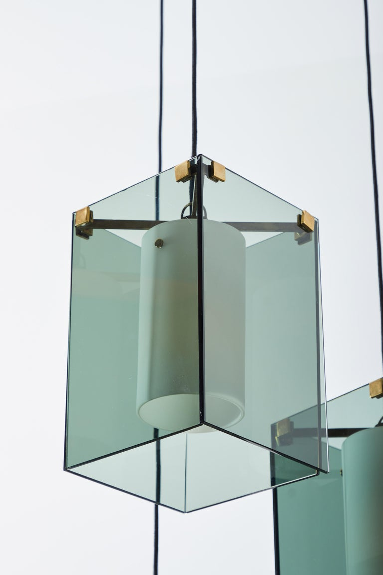 Suspension Light by Max Ingrand for Fontana Arte For Sale 4