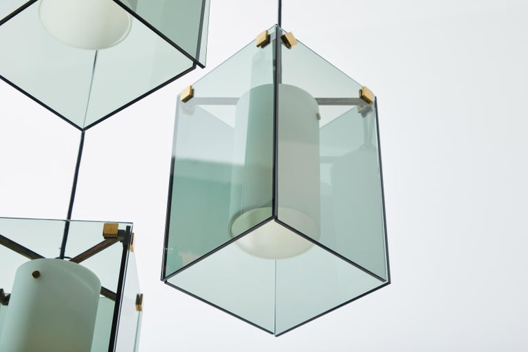 Suspension Light by Max Ingrand for Fontana Arte For Sale 6