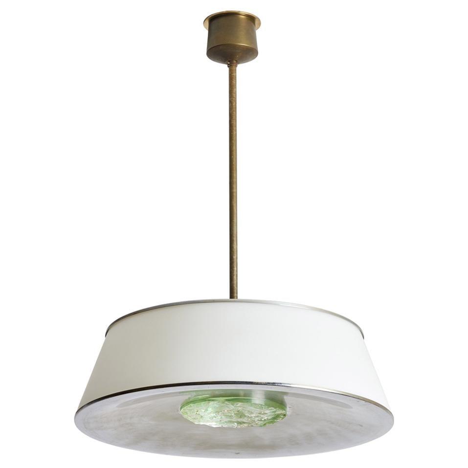 Suspension Light by Max Ingrand for Fontana Arte