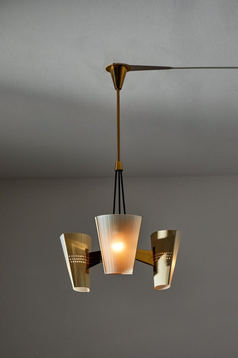 Mid-Century Modern Suspension Light by Stilnovo