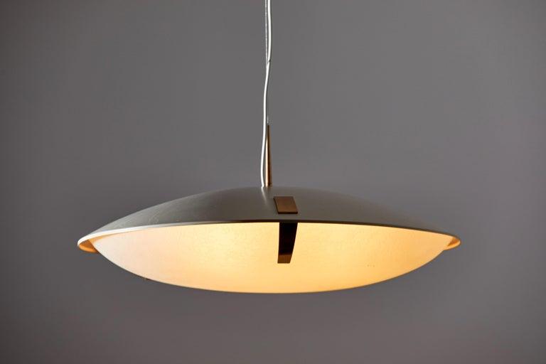 Italian Suspension Light by Stilnovo For Sale