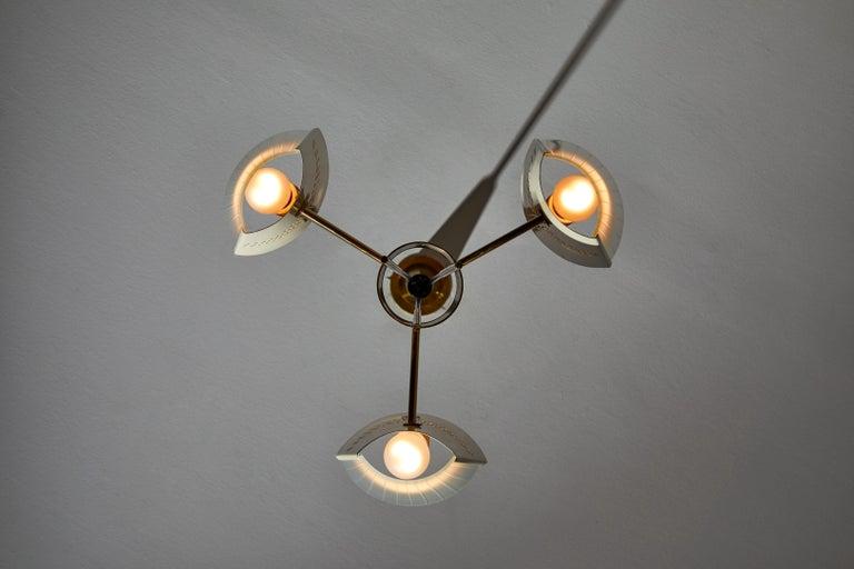 Mid-20th Century Suspension Light by Stilnovo