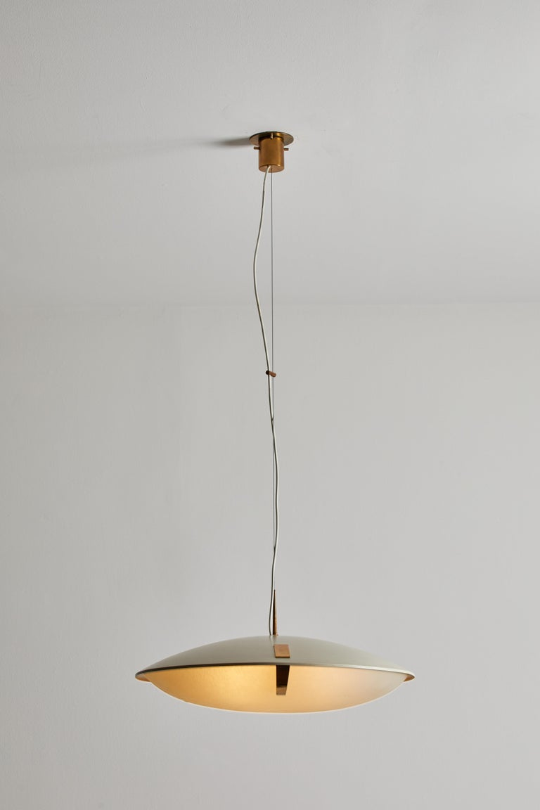 Mid-20th Century Suspension Light by Stilnovo For Sale