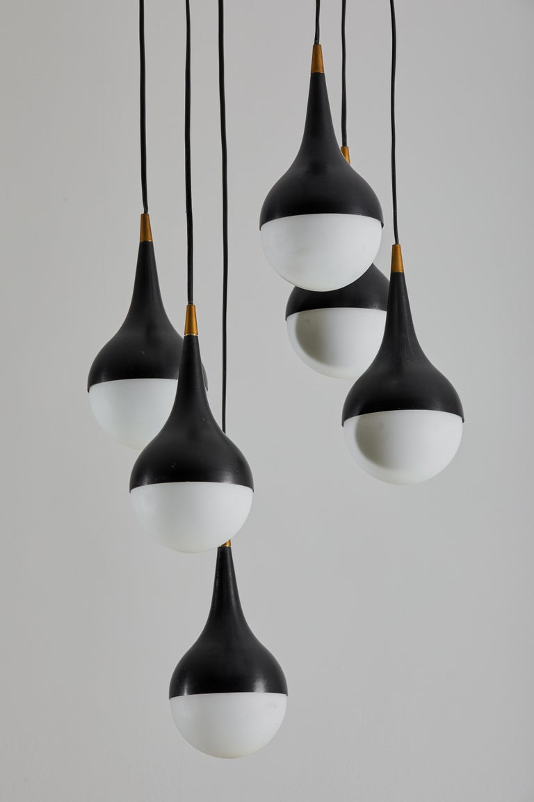 Mid-20th Century Suspension Light by Stilnovo For Sale