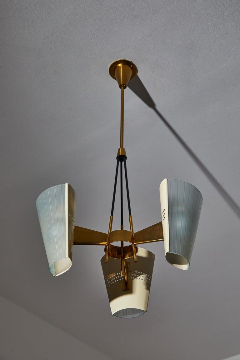 Metal Suspension Light by Stilnovo